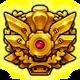 GGXrdS foil badge
