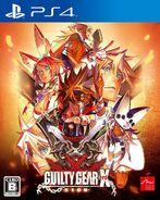 GUILTY GEAR XRD PS4 cover