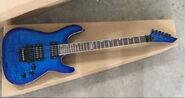 The esp guitar por the heavy metal