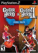 Guitar Hero & Guitar Hero II Dual Pack (PS2 NTSC)