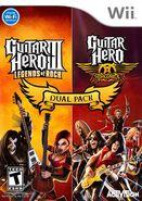 Guitar Hero III Legends of & Guitar Hero Aerosmith Dual Pack (Wii NTSC)