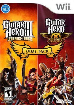 Guitar Hero III: Legends of Rock & Guitar Hero: Aerosmith Dual Pack