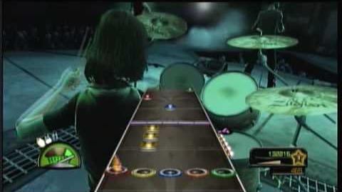 No Excuses 100% FC 362k ( X Drums Guitar Hero Metallica Demo )