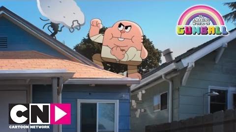 Réparateur de télé Le monde incroyable de Gumball Cartoon Network