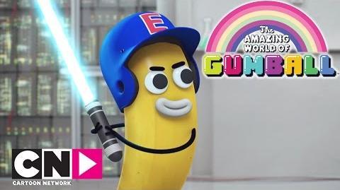 Le sabre de Joe Le Monde Incroyable de Gumball Cartoon Network