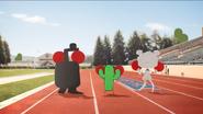 Les pétales-Équipe de cheerleading 01