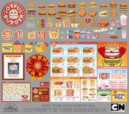 Joyful Burger accessoires