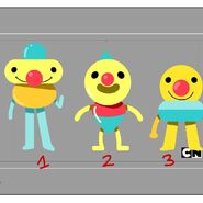 GB606ONE Character GumballsEmotions V002