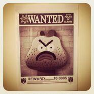 GB205HALLOWEEN Character WantedPoster