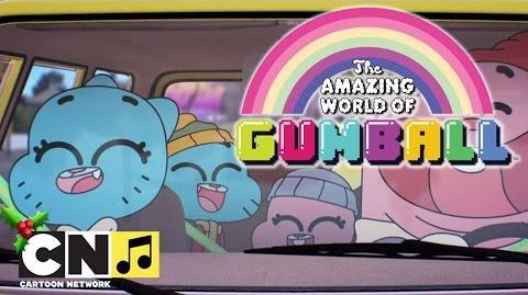La Famille Gumball chante Noël Le Monde Incroyable de Gumball Cartoon Network