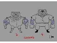 GB6XXCAGE Characters Criminals Rough