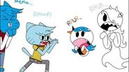 Gumball x Carrie Absolute Terror
