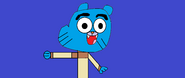 Gumball talking about rob