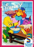 Disney's Gummi Bären - Sunni und Cubbi backen mit Grammi (Schmidt Puzzle)