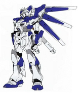 RX-93-ν2 Hi-ν Gundam (Redesign) - Front View