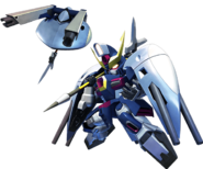 SD Gundam G Generation Cross Rays Abyss Gundam