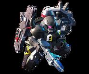 SD Gundam G Generation Cross Rays Gunner ZAKU Warrior (Dearka Elsman Custom)
