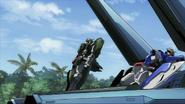 Container elevating Gundams