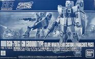 HGUC GM Ground Type (Slave Wraith Team Custom) (Parachute Pack)