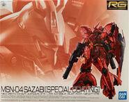RG Sazabi -Special Coating-