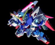 SD Gundam G Generation Cross Rays Destiny Gundam
