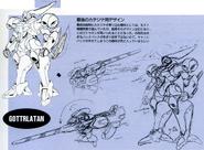 Gottrlatan earlier designs