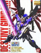 MG Destiny Gundam Clear Color Ver