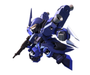 SD Gundam G Generation Cross Rays Schwalbe Graze (Isurugi Custom)