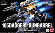 HG 105Dagger Gunbarrel Cover