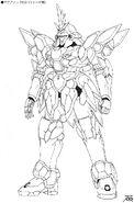 WMS-03 Maganac Rasid Kurama Custom EW 2011 Junya Ishigaki Front