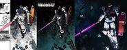 FA Gundam last stand