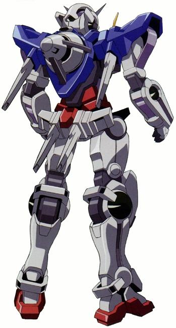 Details about  /NXEDGE STYLE Mobile Suit Gundam 00 MS UNIT Gundam Exia 95mm Figure Bandai