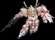 Super Robot Wars V Unicorn Gundam Destroy Mode
