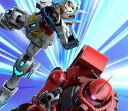 Char's Zaku II & Gundam G-Self (SGR PV)