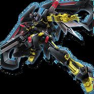 Gundam Diorama Front 3rd MBF-P01-ReAMATU Gundam Astray Gold Frame Amatsu