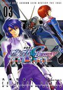 Gundam SEED Destiny The Edge Cover vol 3