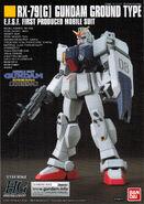 HGUC Gundam Ground Type manual 1
