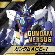 Gundam Age 1 Gundam Versus