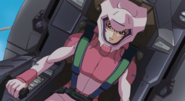 Lacus in Pilot Suit 01 (Seed Destiny HD Ep41)