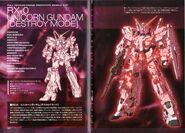 RX-0 Unicorn Gundam-D SpecTechDetailDesign