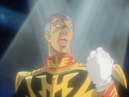 Mobile Suit Gundam Journey to Jaburo PS2 Cutscene 093 Gihren 2