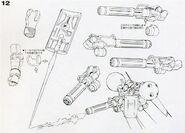 MS-21C - Dra-C - ShieldBeamSabeMegaGatlingGun