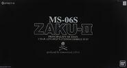 PG Char's Zaku II -Mastermind Japan Ver.-