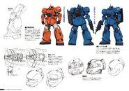 Gundam The Origin Mechanical Work 1st Vol MS-04 Bugu B
