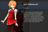 Gundam SEED DESTINY ASTRAY B Character Lily Thevalley