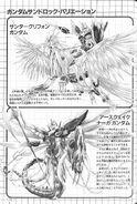 Gundam Wing Perfect Album Bom-Bom Comic BB4