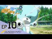 GUNDAM BUILD FIGHTERS TRY-Episode 10- Gunpla Collection (ENG dub)