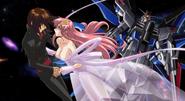 Kira & Lacus, Universe 02 (Seed Destiny HD End-OP Ep28)