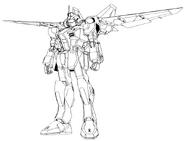 Jet Dagger L Lineart