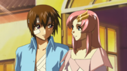 Kira & Lacus, Looking Into Your Eyes (Seed HD Ep33)